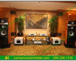Ứng dụng gỗ tiêu âm vào phòng nghe nhạc