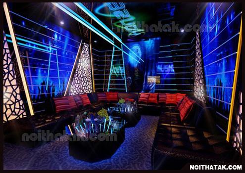 thiet ke noi that phong karaoke ak12 Thi công phòng karaoke gia đình anh Phú