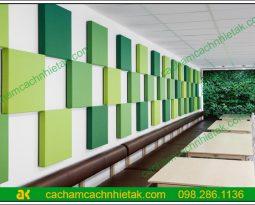 Hướng dẫn thi công tấm tiêu âm AK Fabric lên tường