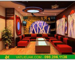 Thi công tiêu âm AK Sona cho phòng Karaoke