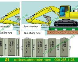 Hướng dẫn thi công tấm chống rung cho sàn sử dụng tấm chống rung Cell Damper