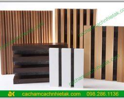 Cách thi công gỗ tiêu âm xẻ rãnh 2
