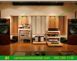 Đánh giá của khách hàng về ứng dụng gỗ tiêu âm trong phòng nghe nhạc