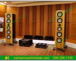 Thiết kế một phòng nghe nhạc chuẩn kỹ thuật và sang trọng với tấm gỗ tiêu âm+1