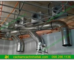 Ứng dụng của ống bảo ôn cách nhiệt sử dụng cao su lưu hóa